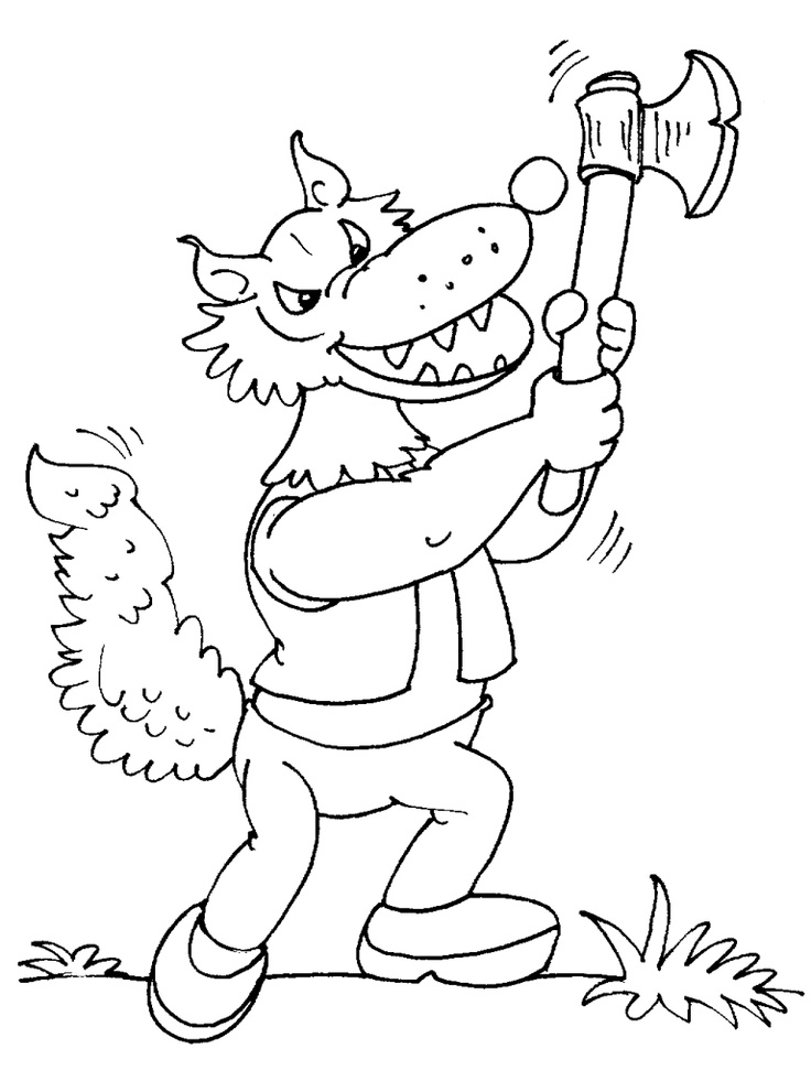 82 best images about dessins de loups colorier on pinterest wolves animaux and coloring - Gulli fr coloriage ...