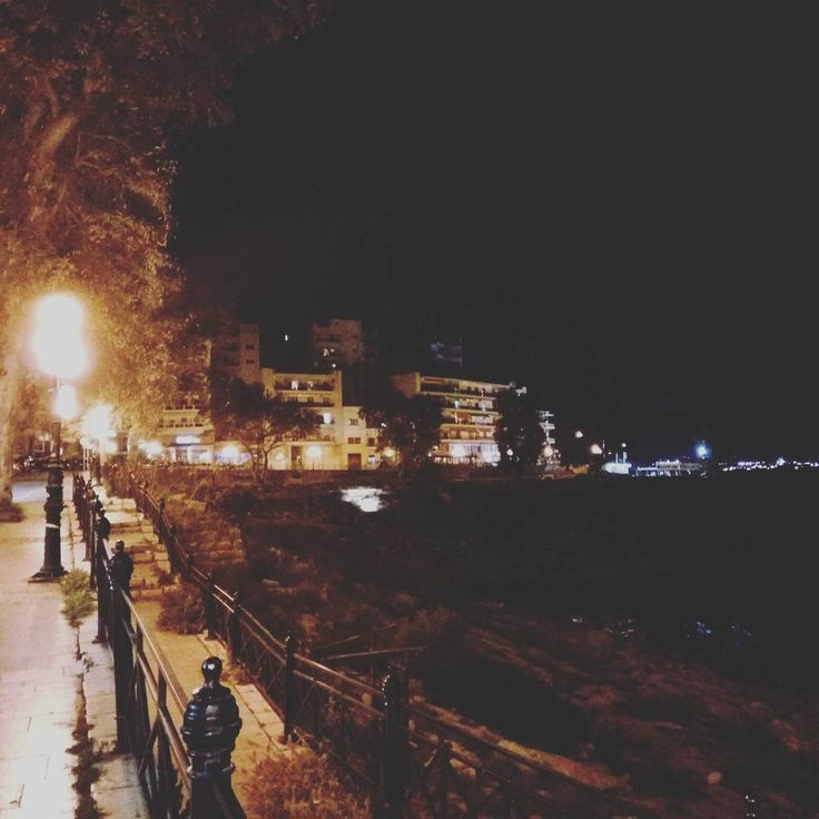 Finally back home #sea #seaside #piraeus #greece #lights #lights #walking #photooftheday #photography #view #black #night #nightout #nightlights #travel #travelgram #igers #igdaily