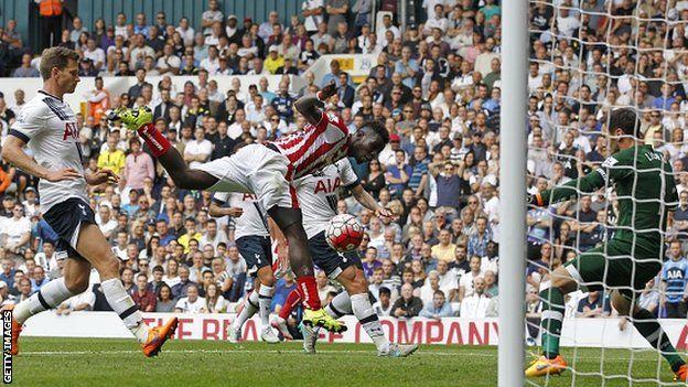 Tottenham Hotspur 2-2 Stoke City