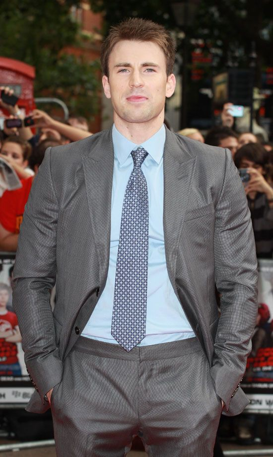 Chris Evans Scott Pilgrim UK Premiere
