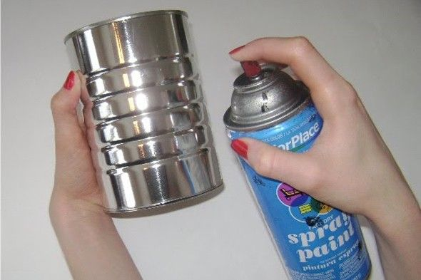 66 best tin can people images on pinterest tin cans for Glass painting tips and tricks