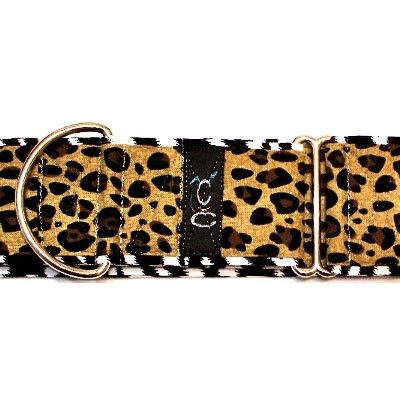 Jungle Boogie Martingale Dog Collar