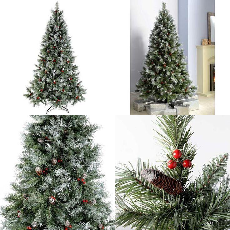 Christmas Tree Fibre Optic House Workplace Decoration Led Lights Metal Stand