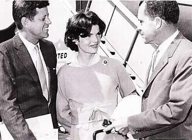 JFK, Jackie Kennedy & Richard Nixon