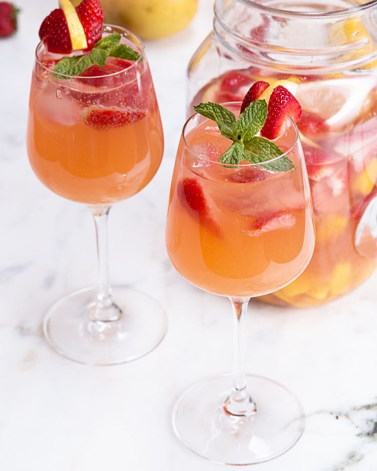 Strawberry Mango Sangria