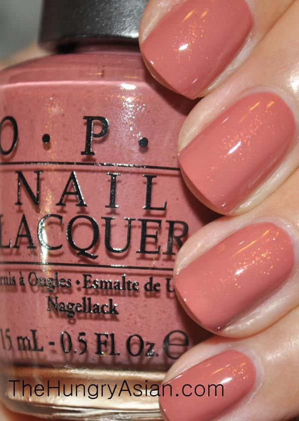 OPI Gouda Gouda two shoes  -- w/out the shimmer