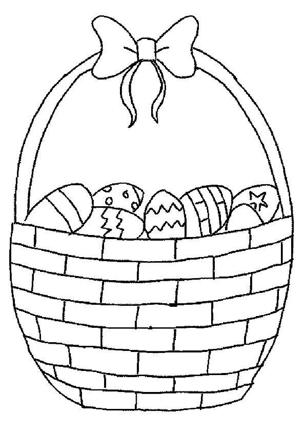 Print Coloring Image Momjunction Easter Egg Basket Rhpinterest: Momjunction Coloring Pages Easter At Baymontmadison.com