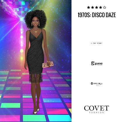 ✨Covet Fashion   Event/Theme: 1970s: Disco Daze✨