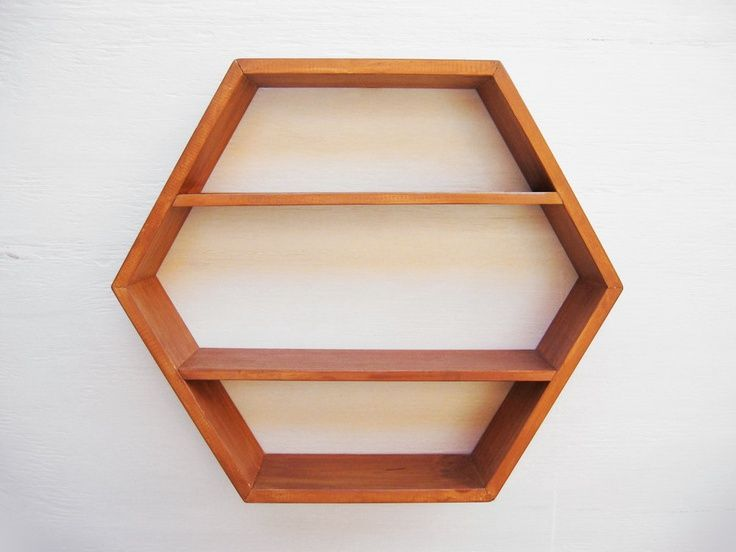 hexagon shelves on etsy shelves display pinterest. Black Bedroom Furniture Sets. Home Design Ideas