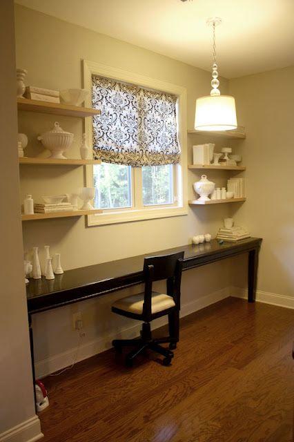 1000 ideas about long desk on pinterest family office. Black Bedroom Furniture Sets. Home Design Ideas
