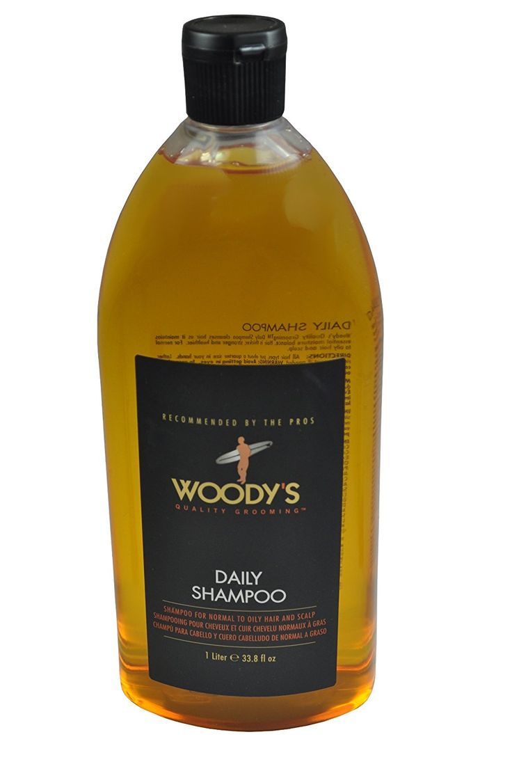 Woody's Daily Shampoo for Men, 33.8 Ounce *** Be sure to check out this awesome product.