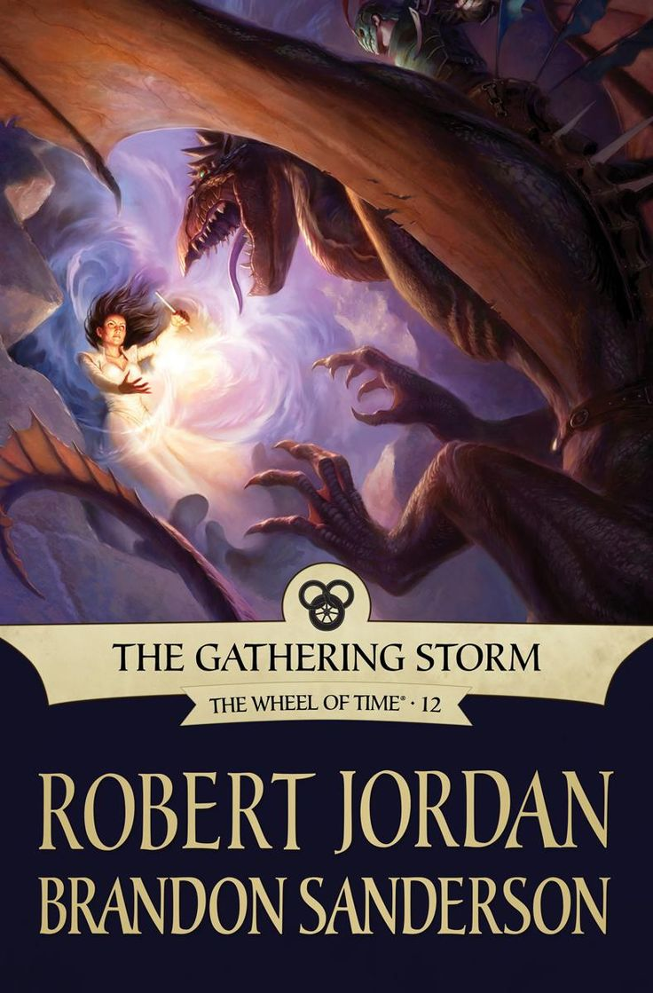 Todd Lockwood, The Gathering Storm (wheel Of Time By Robert Jordan) Ebook  Cover