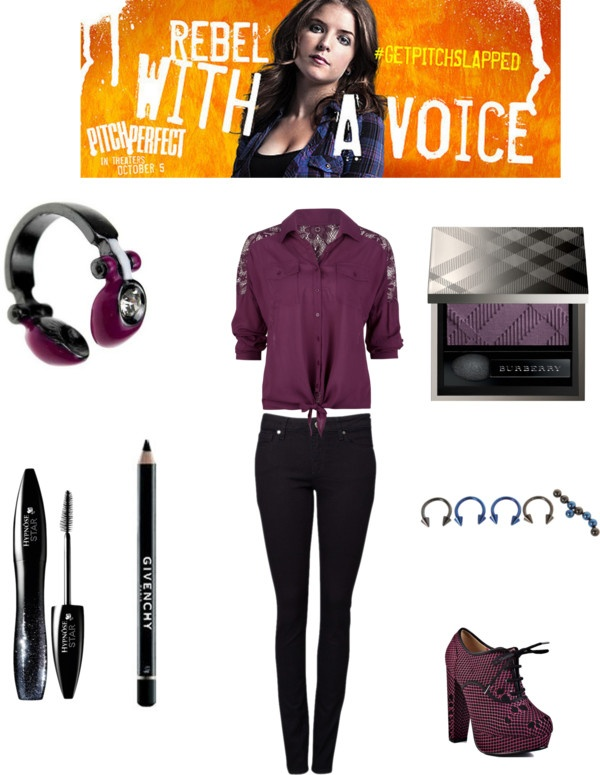 """Pitch Perfect: Becca"" by emrainer ❤ liked on Polyvore"