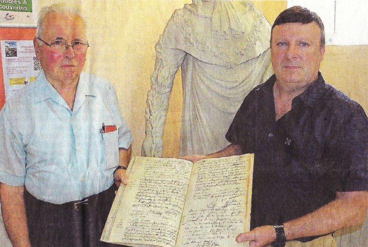 Généalogie : Coup de jeune sur le premier registre d'état civil du Loroux-Bottereau