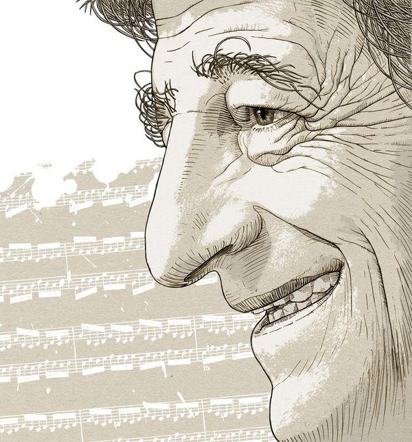 Stanislaw Radwan for Przekroj by Bartosz Kosowski, via Behance