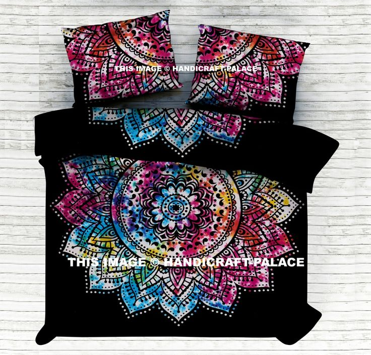 Indian Bed Sheet / Bedspread / Throw Set #Traditional #Mandala #Ethnic #Indian #Sheet #Throw #Wall #Hanging #Double #Bohemian #Hippie #Gypsy #Decor #Bedding #Set #Tie&dye #Flower #Love #decorative #Pillow #cushion #case #sham #slip #India #art #black #Multi #color #Tiedye #Queen #royal #luxury #bedding #room #home #decor #live #life #love #boho #cotton