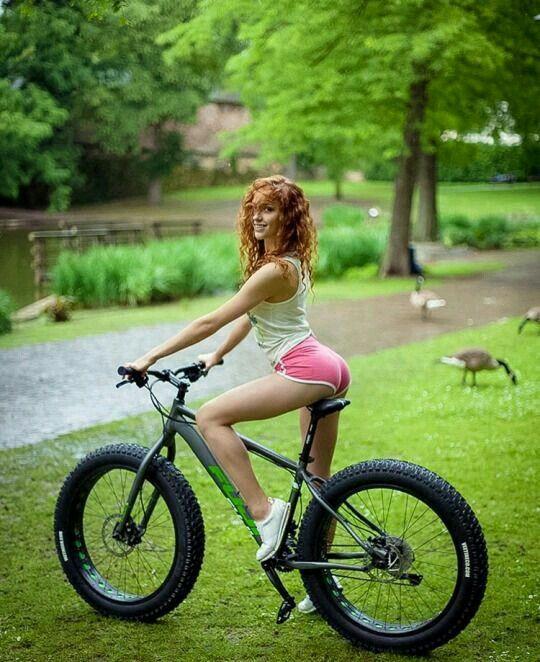 Hot female cyclists chubby
