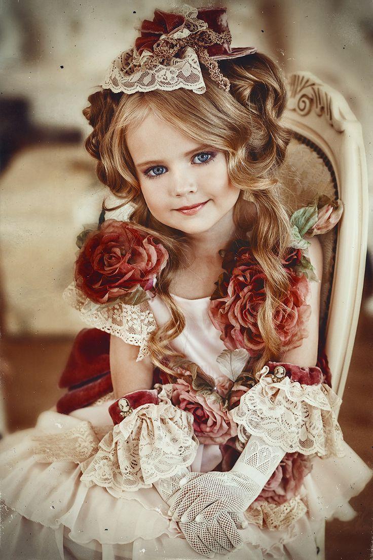 Anastasia Orub (born May 15, 2008) Russian child model. Alena Skoraya Photography.