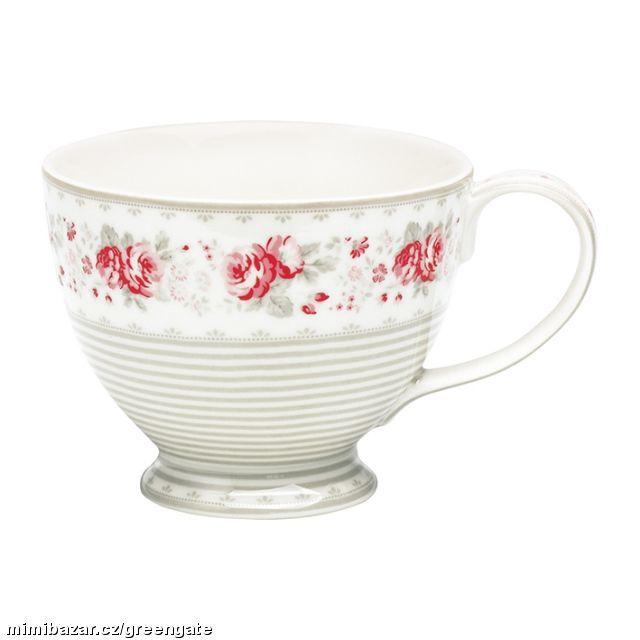 GG velký porcelánový hrnek s uchem Vilma Vintage