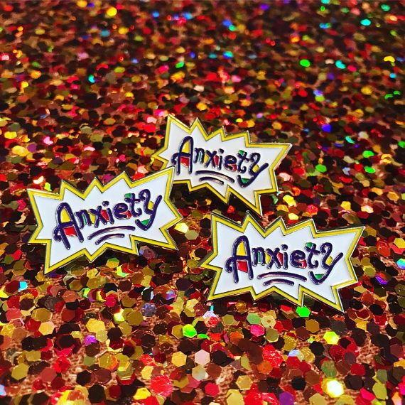 Hey, I found this really awesome Etsy listing at https://www.etsy.com/listing/529363020/anxiety-rugrats-pin