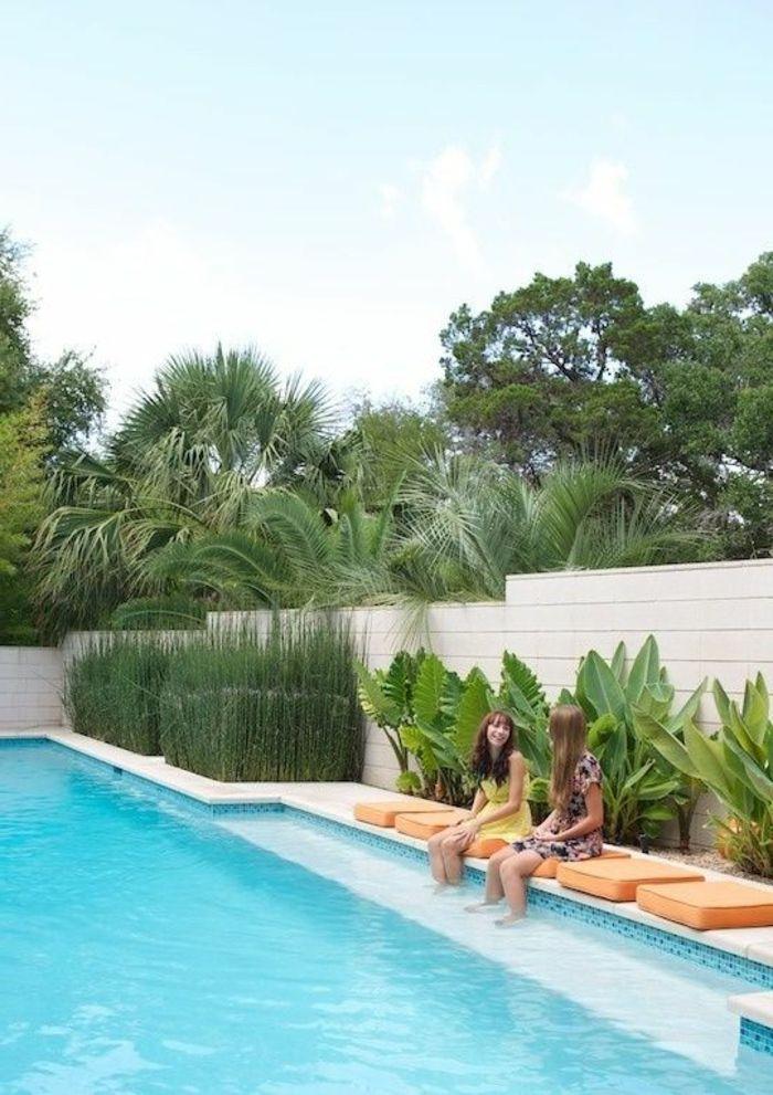 amnagement extrieur maison idee deco jardin exterieur habiller un mur extrieur en bois pvc