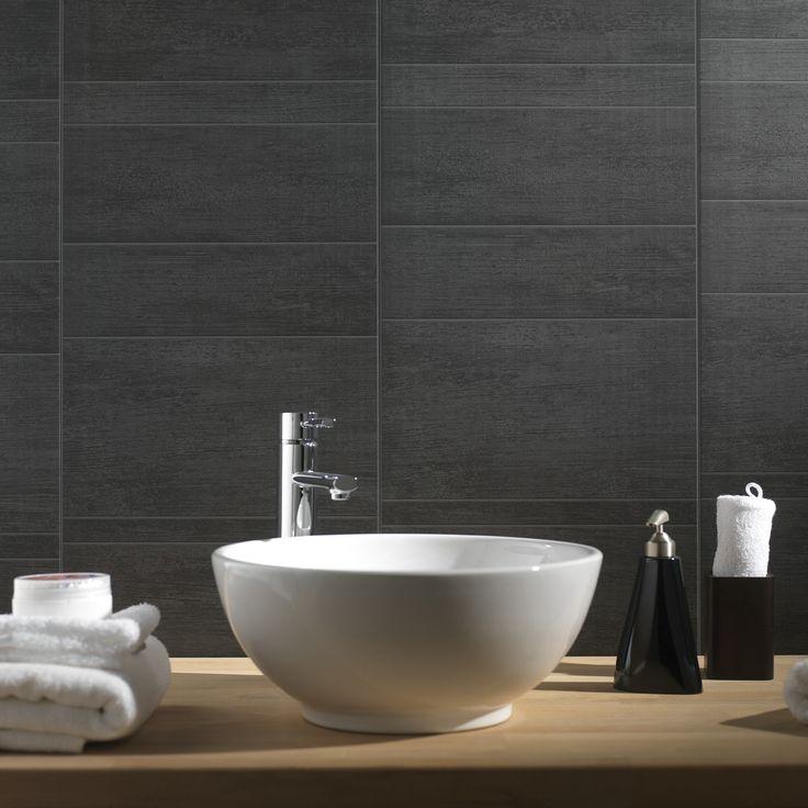 Grosfillex paneel Element M PVC antraciet 2,925 m² afwerken van bovan en onder met in klik profielen in de zelfde kleur of een sanitaire kit laag in de zelfde kleur van onder en boven aanbrengen tatale opp badkamer muren is 14.9m².vloer is2.34m² deze panelen kosten 13.99€/m²=14.9x13.99=208.451€++vloer nog