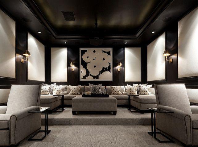 Media Room Furniture Decoration
