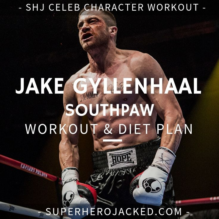 Jake Gyllenhaal Workout and Diet Plan [Updated] Boxer