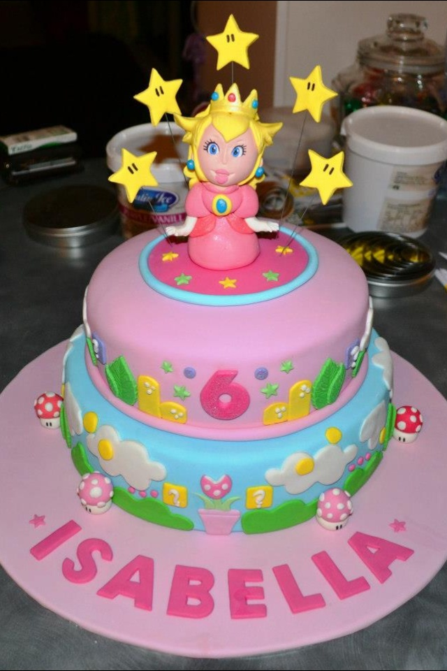 Princess Peach Bakes A Cake