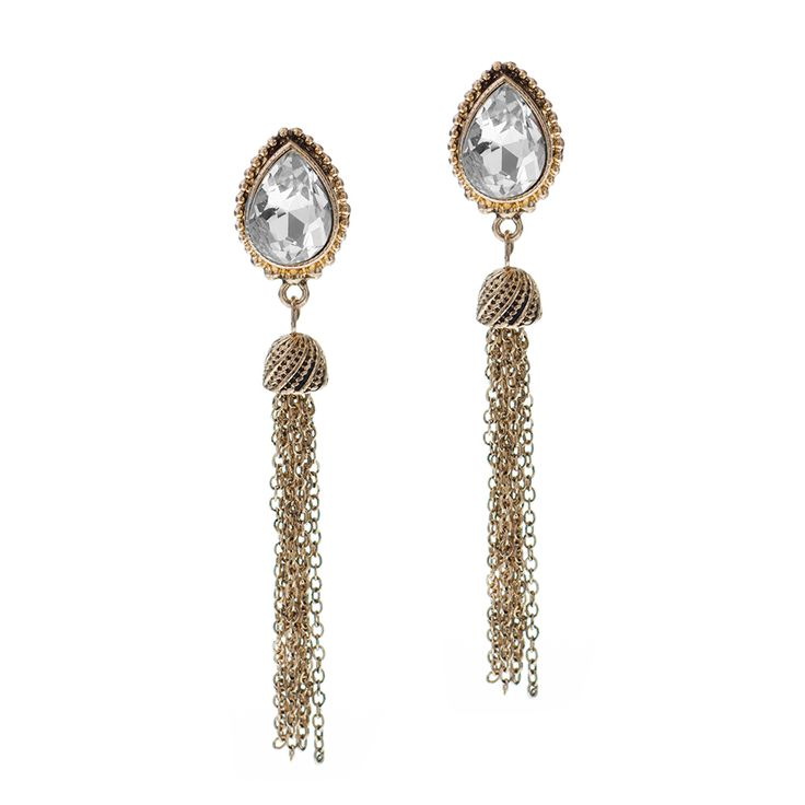 Take out these shoulder skimming lovelies for a lustrous look that exudes all kinds of modern glam. Their lightweight and luxe feel will keep you dancing in them all night.