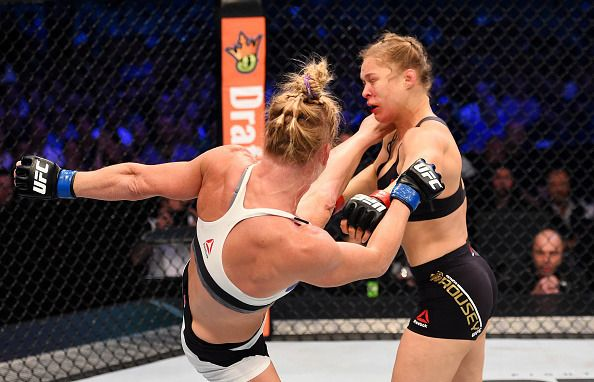 Ronda Rousey knocked out by Holly Holm in staggering UFC upset