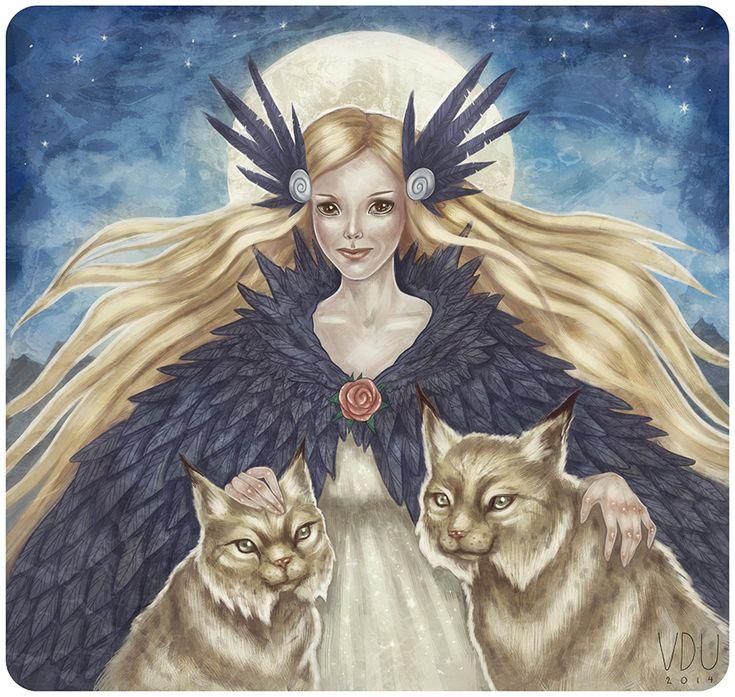 фото и рисунки богини фрейи организация