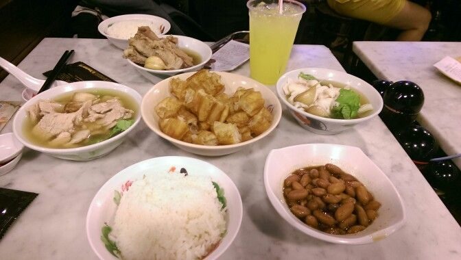 Bak kut teh : specially for those who doesn't like peppery taste.