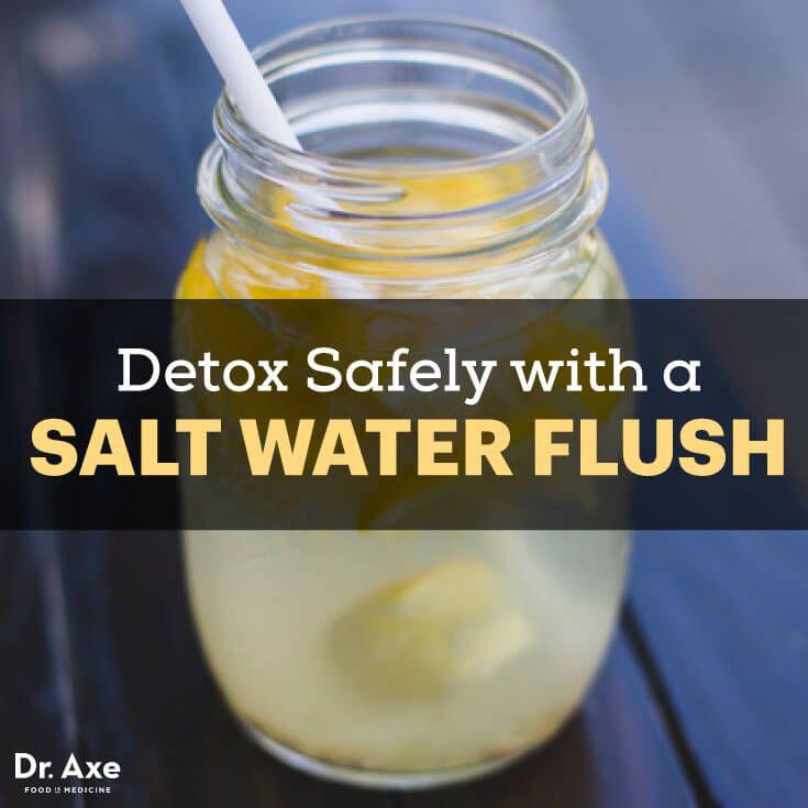 Salt water flush - Dr. Axe http://www.draxe.com #health #Holistic #natural