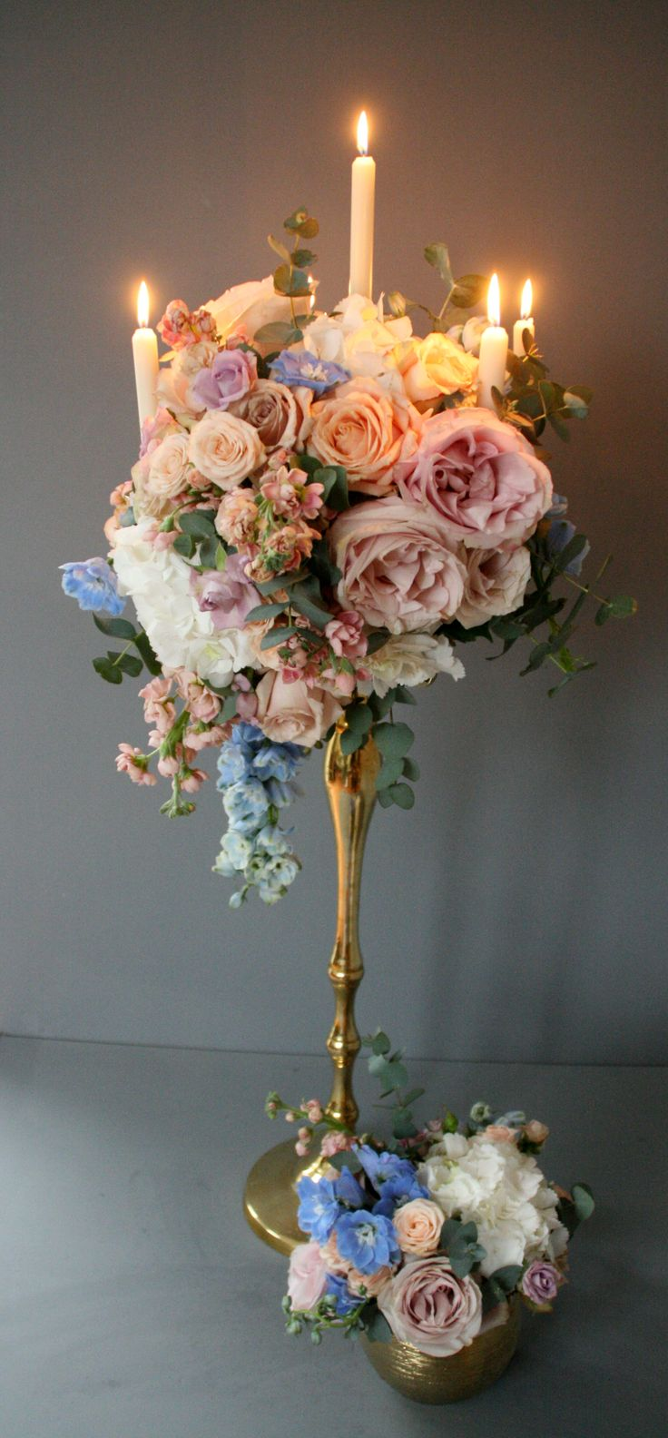 Best candelabra flowers ideas on pinterest wedding