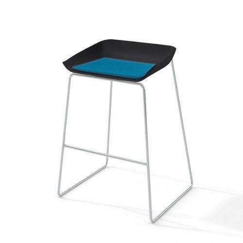 Turnstone by Steelcase Scoop Stool with Cobblestone Seat Blue Jay Fabric · Silver FramesOffice FurnitureOffice ...  sc 1 st  Pinterest & 20 best seating images on Pinterest | Office furniture Modern ... islam-shia.org