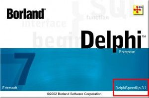 Tips and Trick SpeedUp Loading Borland Delphi 7 with DelphiSpeedUp 3.1 | Borland Delphi Learning