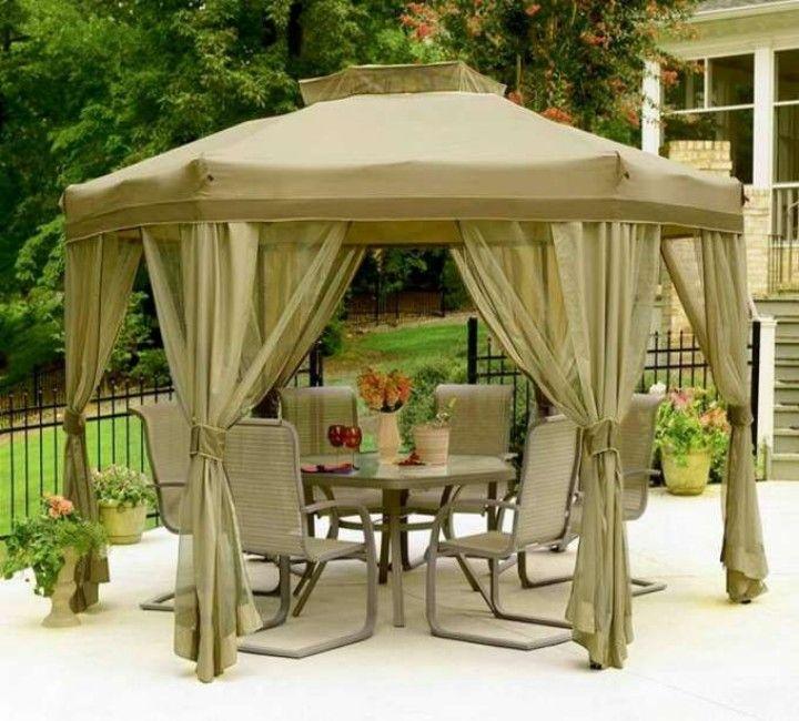 Garden Furniture Gazebo backyard gazebo furniture ideas | backyard gazebo, patios and