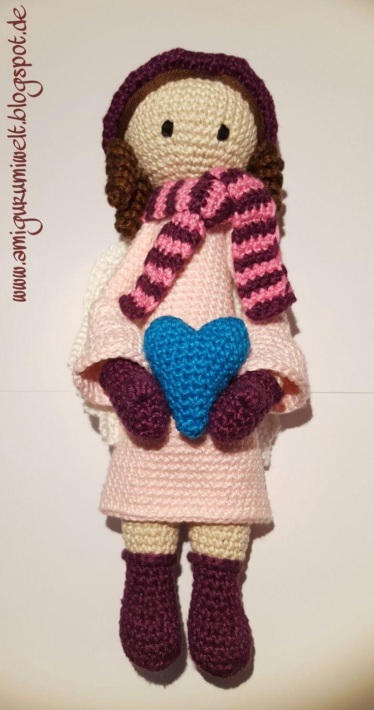 Wundervolle Amigurumi Welt: Engelmädchen Éla free pattern (de)