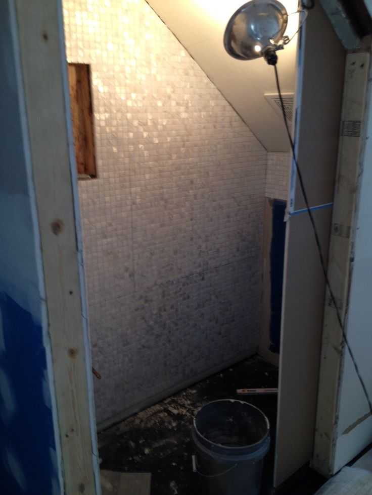23 best Small Bathroom under the stairs Renovation\/ Ideas images - happy d badezimmer