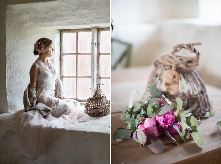 Wedding top wedding skirt dress tulle lace bohemian vintage wedding photography bröllop klänning kjol topp SensibleM