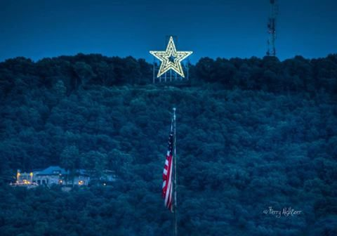 Mill Mountain Star, Roanoke, Virginia