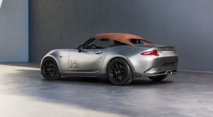 Mazda MX-5 Spyder and MX-5 Speedster concepts at SEMA - http://www.motrface.com/mazda-mx-5-spyder-and-mx-5-speedster-concepts-at-sema/