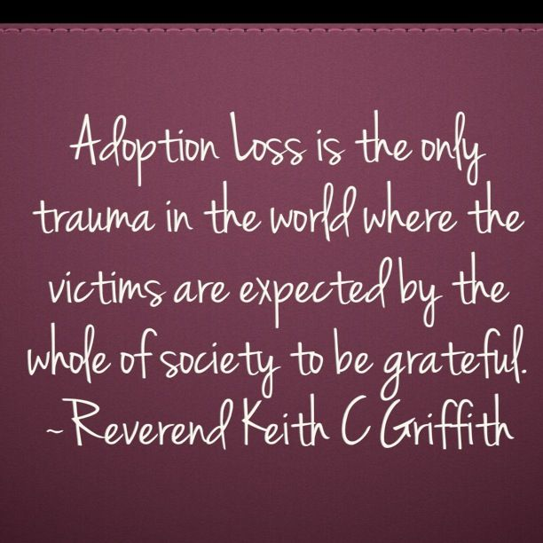 """Amen, let's change this. Children who were adopted are not """"lucky"""", we are so lucky to have them join our families."""