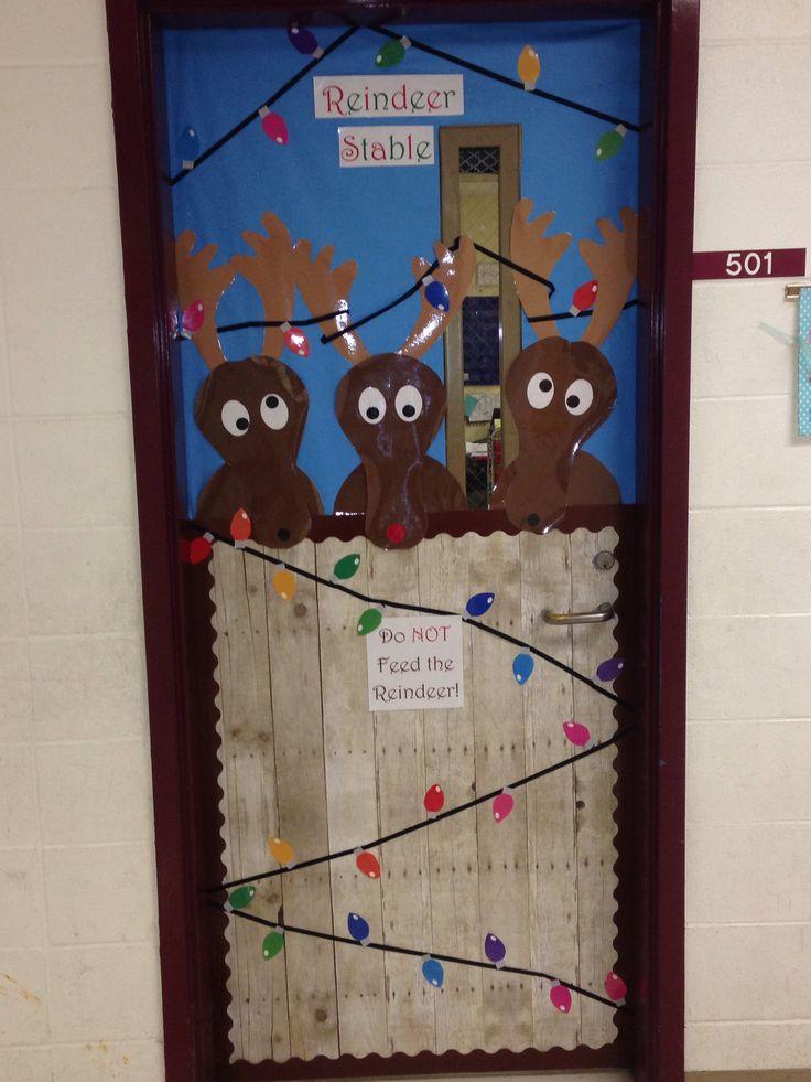 Christmas classroom door. | Christmas classroom door, Door ...