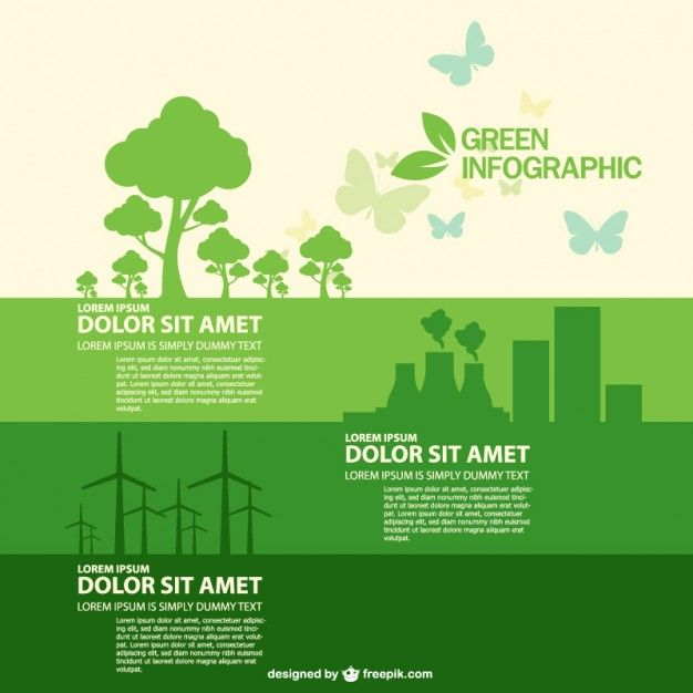 Free Vector Infographic Ecology Style (Ai Download) By Exclusive on Freepik | Lazy Drawing