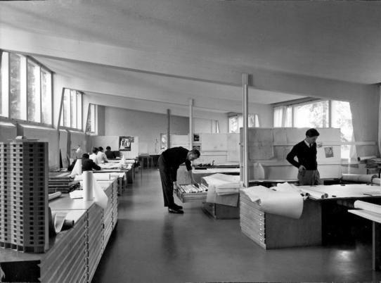 Studio Aalto, Helsinki Finland (1955-56) | Alvar Aalto