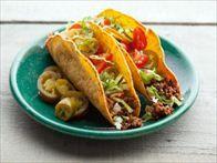 All American Beef Taco Recipe : Alton Brown : Food Network