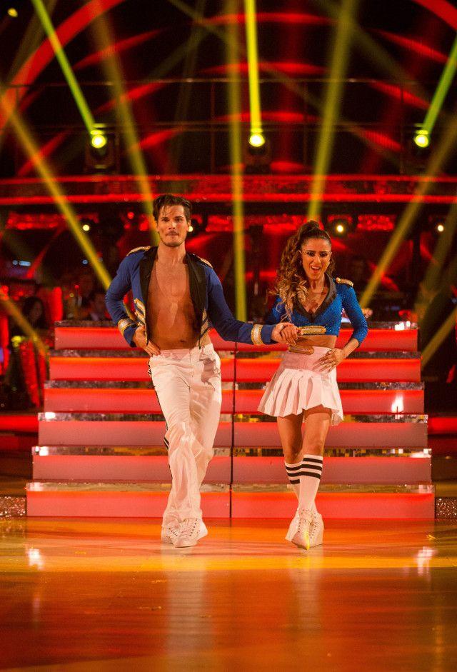 SCD week 12, 2015, semi-final. Anita Rani & Gleb Savchenko. Salsa, 2nd dance. Credit: BBC / Guy Levy