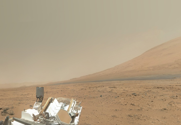 これが火星の風景なんだねo(@Д@;